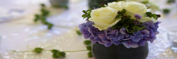 Blumendekoration für jeden Anlass