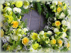 Trauerfloristik Grabpflege